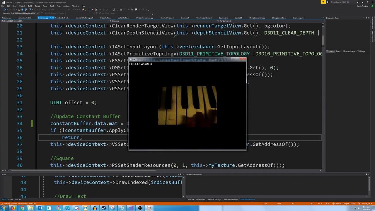 C++ DirectX 11 Engine Tutorial 28 - Matrix Transformation