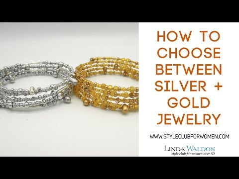 How To Choose Between Silver + Gold Metal Jewelry?