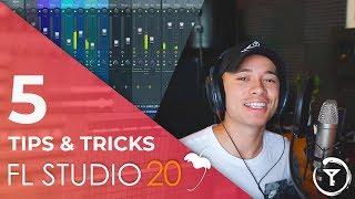 5 Tips in FL STUDIO 20 | RECORDING & EDITING