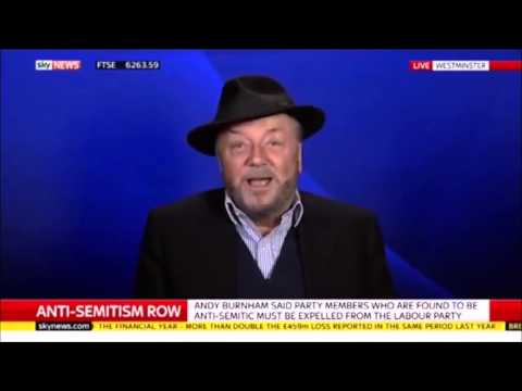 """""""It's a fact that Hitler was supporting Zionism"""" - George Galloway - Sky News - 29th April 2016"""
