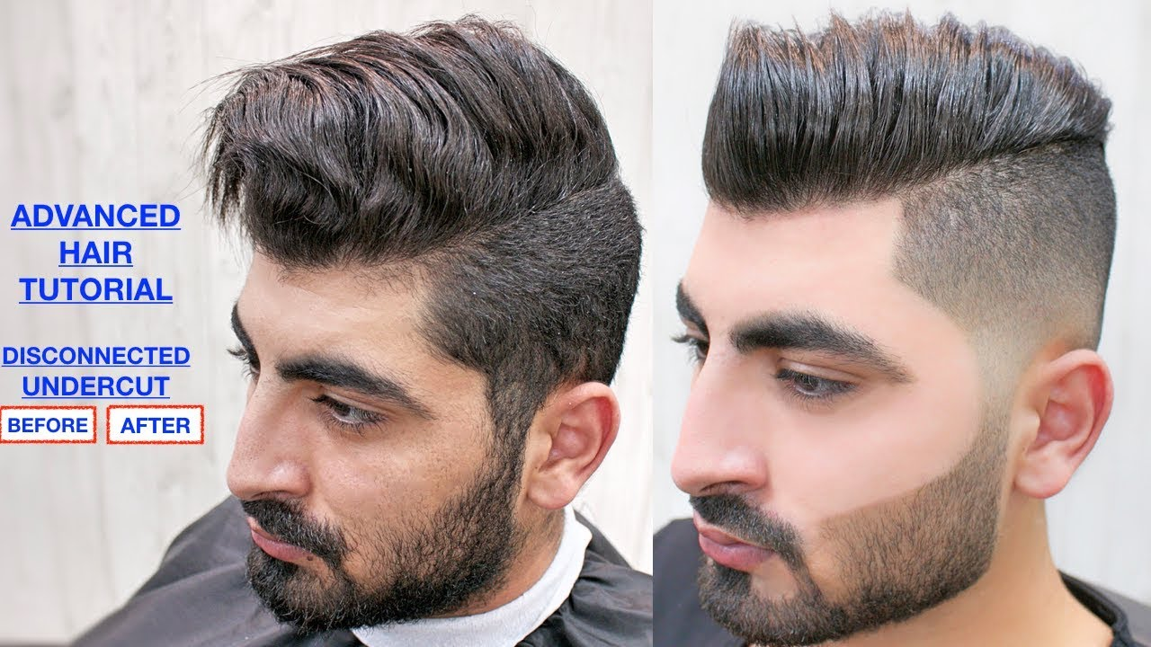Disconnected Undercut Men S Haircut Hairstyle Face Waxing