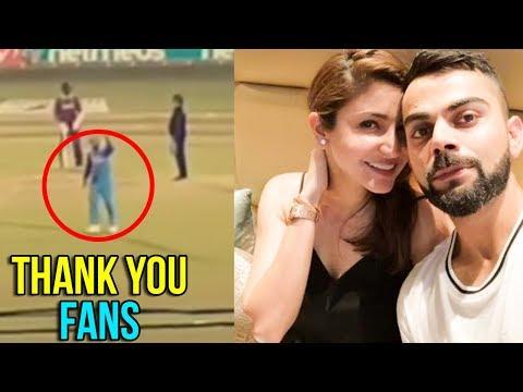 Virat Kohli REACTION To CROWD Chanting Anushka Sharma Name During Match | Ind Vs WI 2018 Mp3