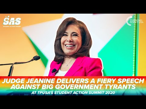 Judge Jeanine Delivers A FIERY Speech Against Big Government Tyrants