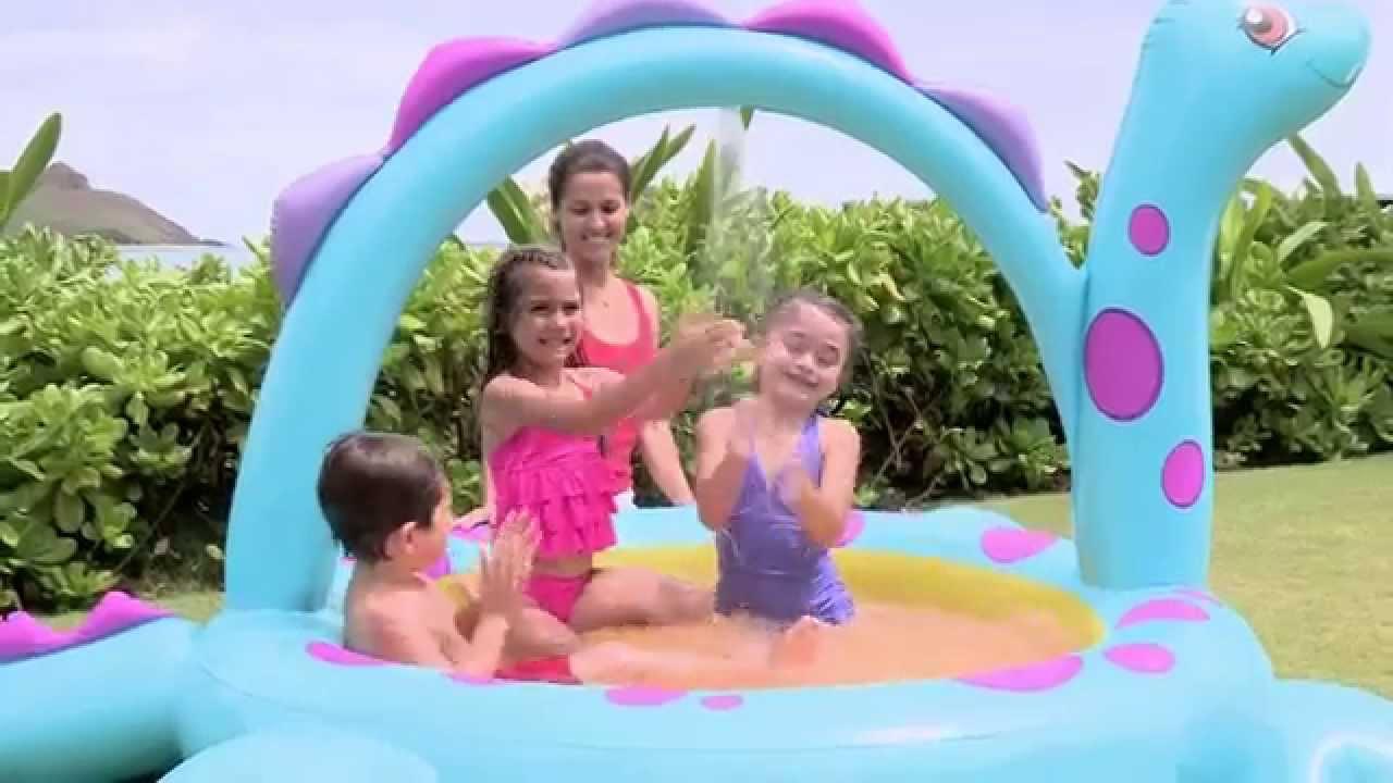 Купить в интернет-магазине «ашан». Артикул 929272. Качественная. Детский надувной бассейн «тачки» intex 57478, 262х175х56см, 749л 929272.