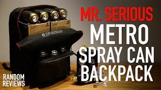 Mr Serious Metro Spray Can Backpack - Review
