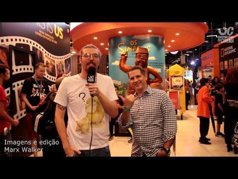 CCXP  - entrevista com Sérgio Domanico da FOX