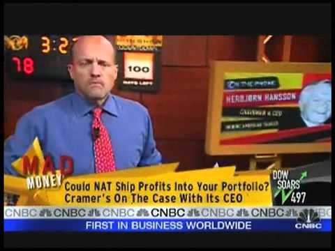 Cramer Interviews Nordic American Tanker CEO
