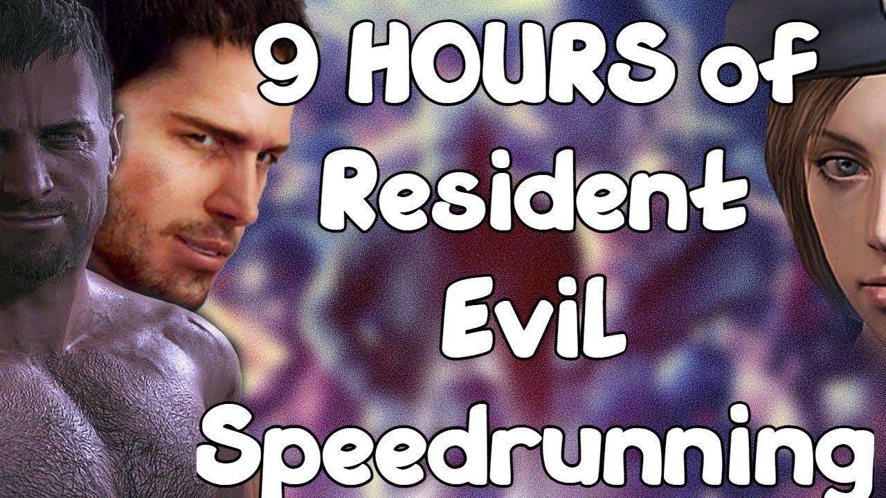 9 Resident Evil Speedruns in ONE sitting