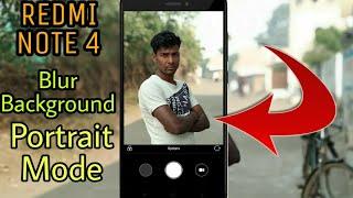Portrait Mode/Blur Effect Camera feature On REDMI NOTE 4 || Like Mi A1 Camera Click