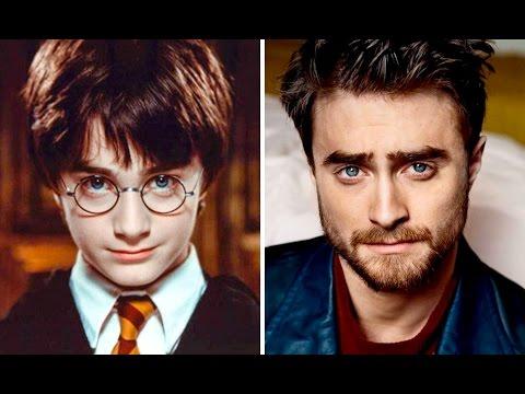 Актеры Гарри Поттера тогда и сейчас