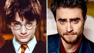 Актеры Гарри Поттера. Тогда и Сейчас