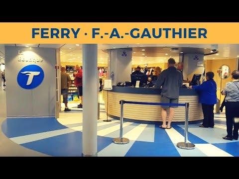Passage ferry F.-A.-GAUTHIER, Baie Comeau - Matane (Société des traversiers du Québec)