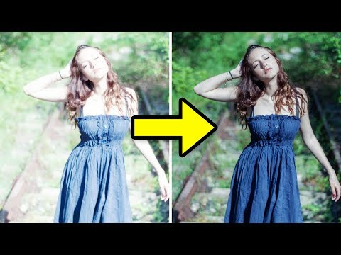 Photoshop Tutorial | How to Fix Overexposed Photos in Photoshop