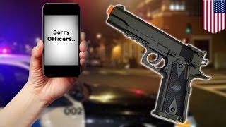 Мужчина покончил с собой, спровоцировав полицейского на убийство