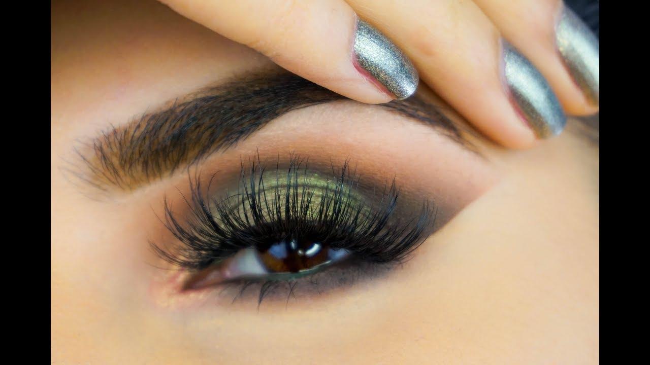 Green Eyeshadow Tutorial Using Colourpop Sal Qu Youtube
