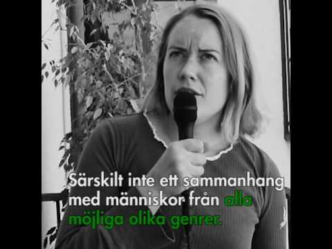 Anna Christensson om UTOM