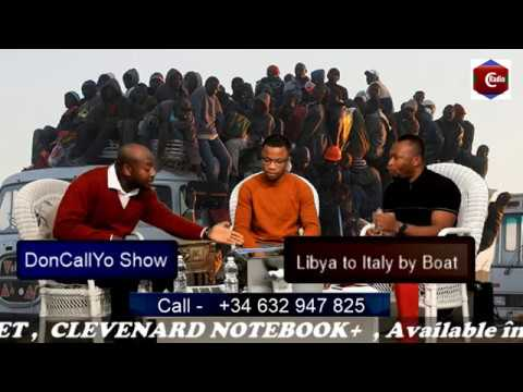 Libya to Italy by Boat