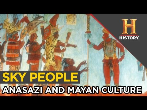 Visitors from the Sky in Anasazi and MesoAmerican Culture | Ancient Aliens