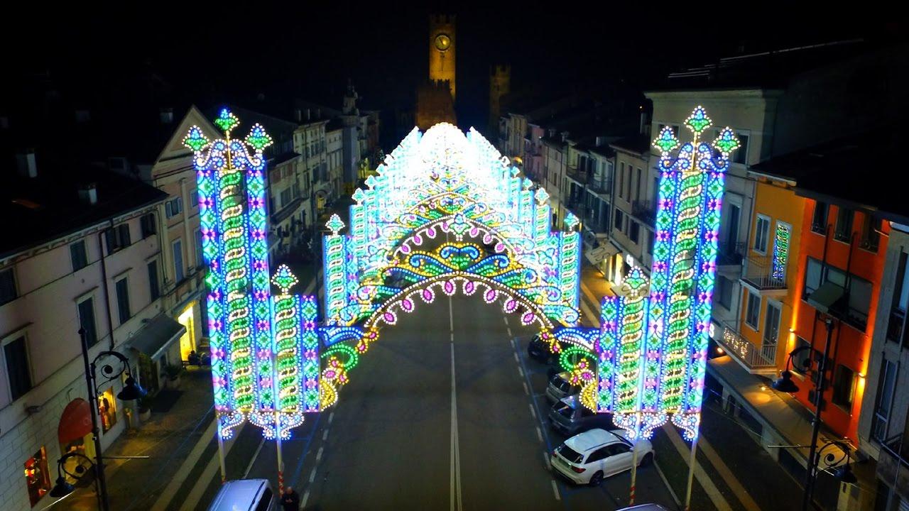 Luminarie a Villafranca  Natale 2016  YouTube