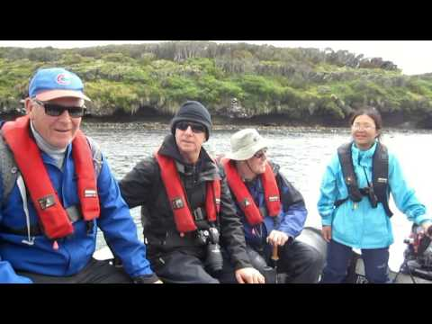 Antartica 2016 - Part 2 : Auckland Islands