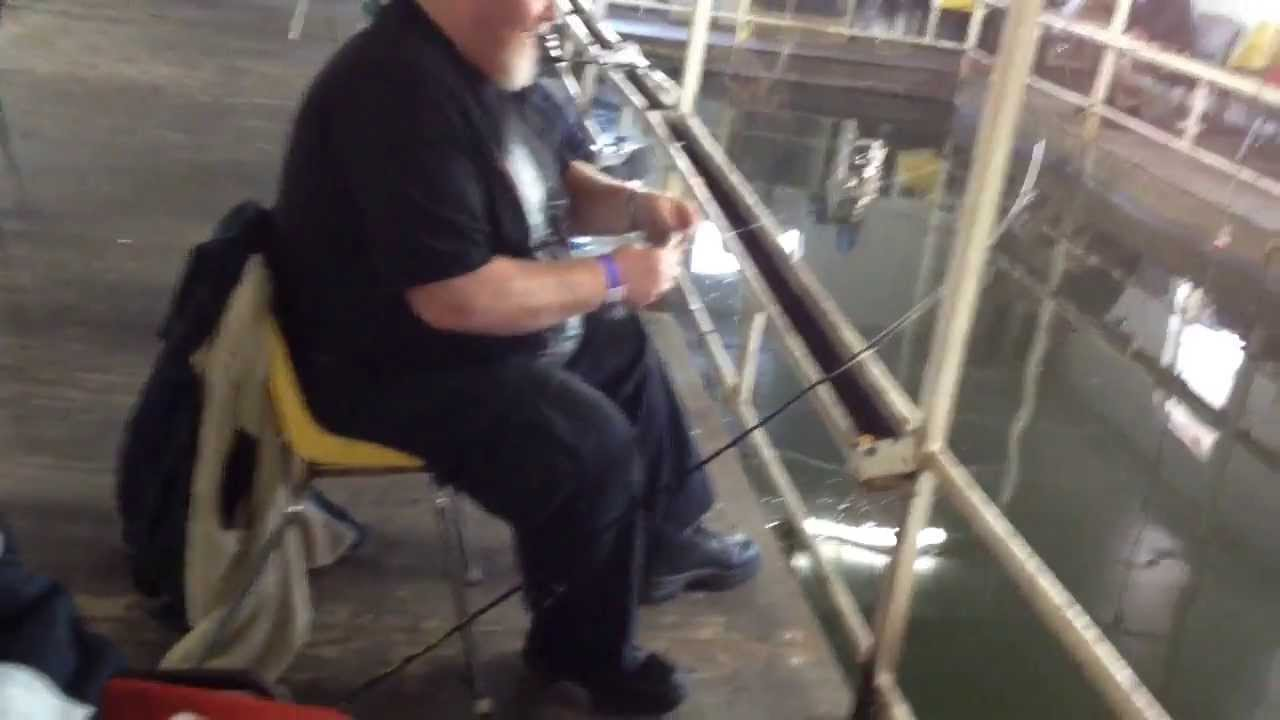 Freshwater fish lewisville tx - Lewisville Fishing Barge Yes You Can Fish Indoors In Texas
