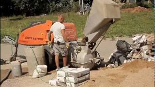 Fosbeton - betonové podlahy RD