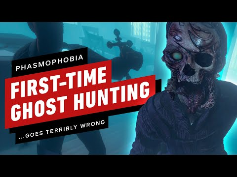 Phasmophobia: First-Time Ghost Hunting Goes Terribly Wrong