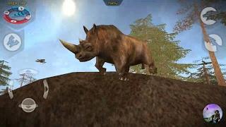 Carnivores Ice Age   Mammoth, Brontoteriy, Wooly Rhino Hunting