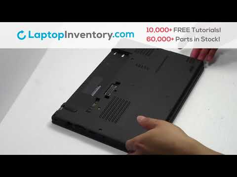 How To Replace Lenovo Thinkpad X240 Laptop Motherboard And Fan, Dismantle 20CL 20CM