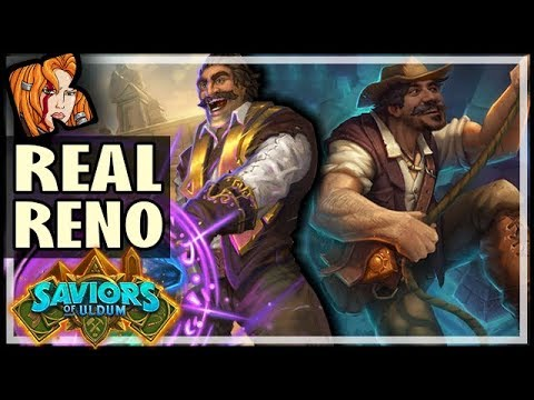 REAL RENO IS BACK IN ARENA?! - Saviors of Uldum Hearthstone