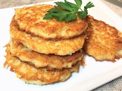 Настоящие ДРАНИКИ из картофеля.. Секрет Вкусных Драников.  Картофельные Оладьи.  Potato fritters