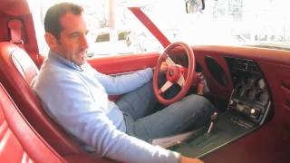 1977 Chevrolet Corvette T-Top for sale with test drive, driving sounds, and walk through video