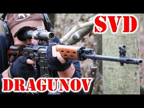 Real SVD Dragunov - Russian Sniper / DMR Rifle