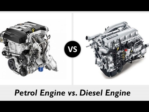 Difference Between Petrol And Diesel Engine Hindi