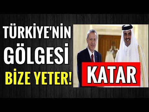 Katar; Biz Türkiye'nin Koruması Altındayız!