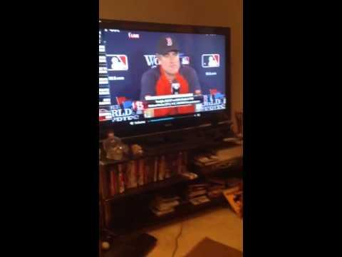 John Farrell Interview World Series