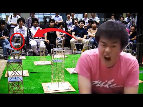 Japanese kid wins earthquake competition - New World Record!