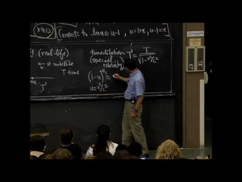 Time Dilation (MIT Lecture Video)