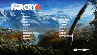 Far Cry 4 Menü Sprache ändern