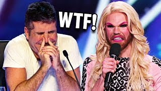 Simon Cowell Wouldn't Stop Laughing.. So Guy Did This...