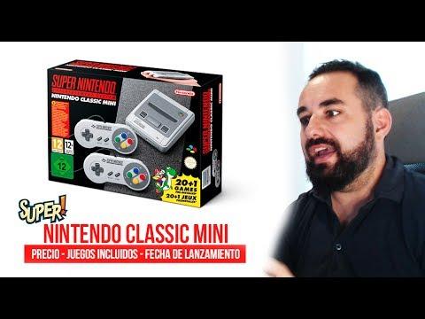 Super Nintendo CLASSIC MINI - SNES MINI Juegos, Precio, Fecha de Lanzamiento y Opinión