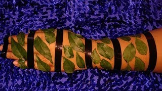How to apply full hand mehndi designs with Leafs&Cellotape|Latest trick big leaf mehndi|