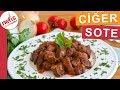 Yumuşacık Ciğer Sote Nasıl Yapılır?  Dana ciğer nasıl pişirilir?