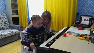 Абдулхалимова Лиана.3 года. Муз.урок №1.1