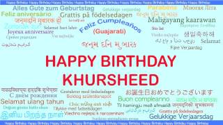 Khursheed   Languages Idiomas - Happy Birthday