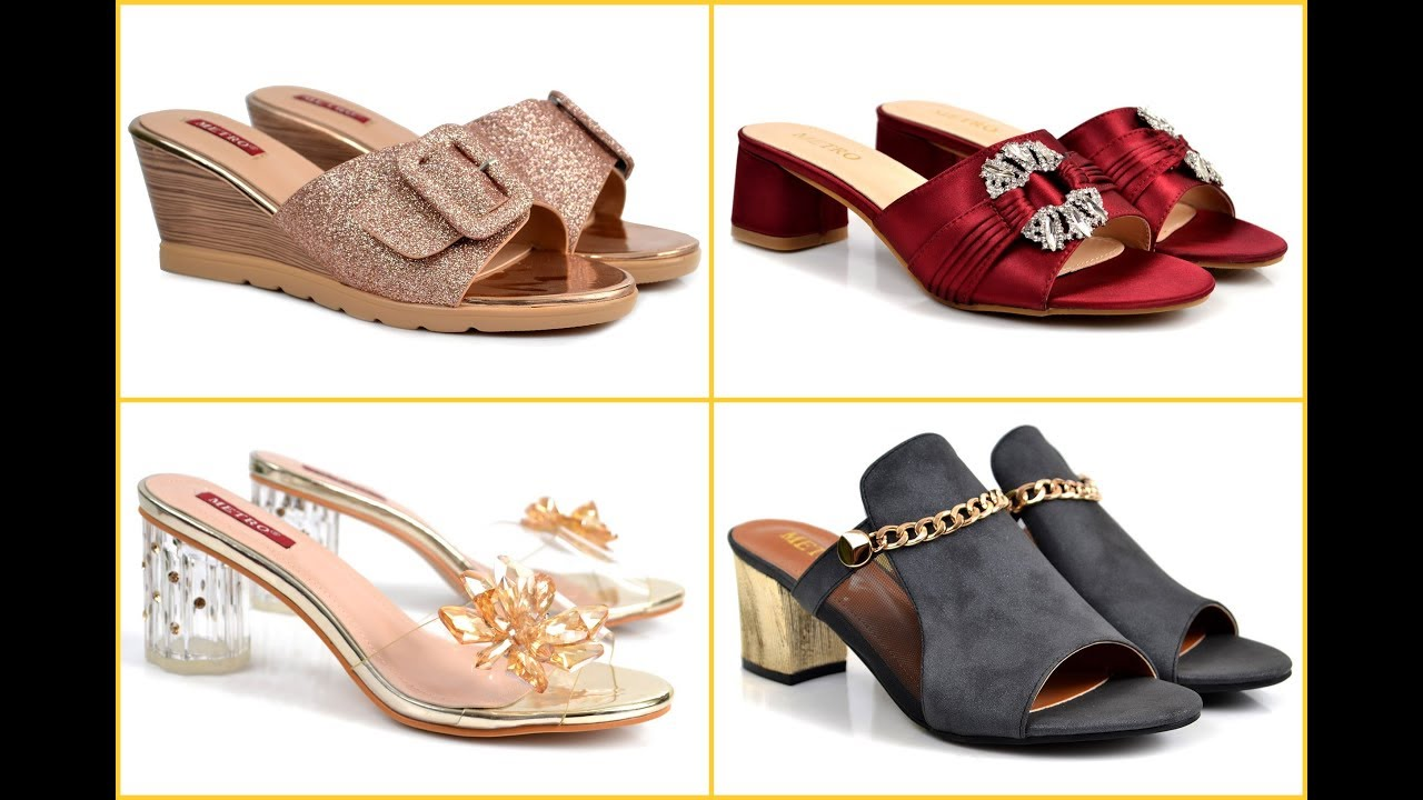Metro Shoes New Women Footwear Collection 2019,20\u003dStylish Metro Shoes With  Price