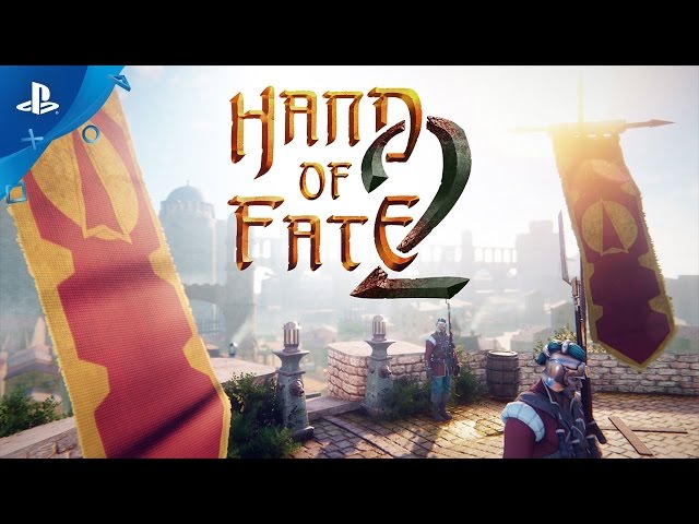 Hand of Fate 2 - PlayStation Experience 2016: Story Trailer | PS4