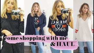 COME SHOPPING WITH ME + HAUL | SOPHIE MILNER | FASHION SLAVE
