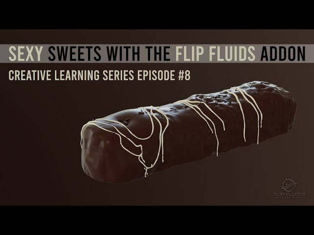 Make SEXY sweets with the FLIP Fluids addon for Blender (#8)