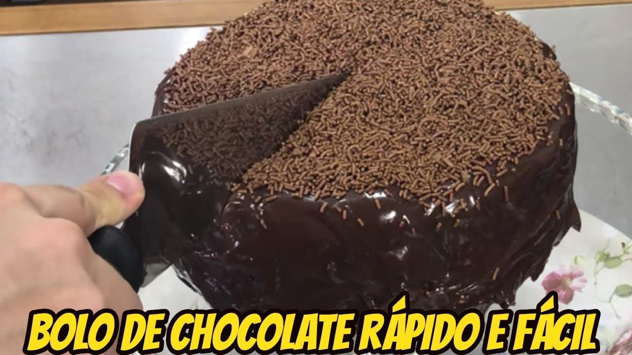Bolo De Chocolate Rapido E Facil Manual Da Cozinha 322 Youtube